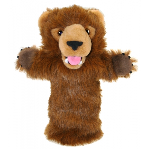 Papusa de mana stil manusa Urs Grizli