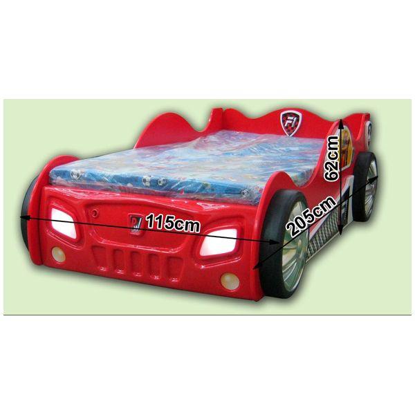 Patut in forma de masina Monza Rosu