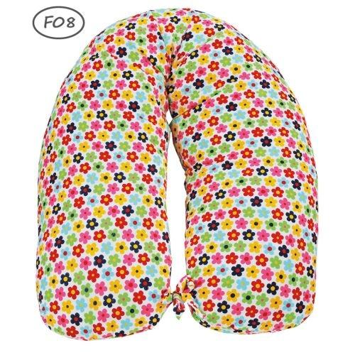 Perna gravida husa bumbac diverse culori 165cm