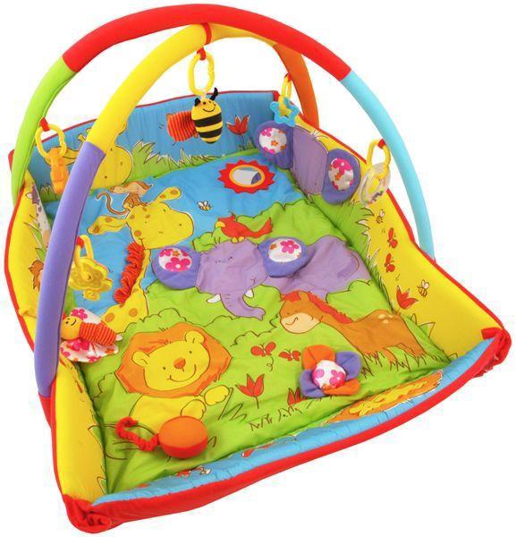Saltea de joaca cu protectii laterale Circus din categoria Camera copilului de la BABY MIX