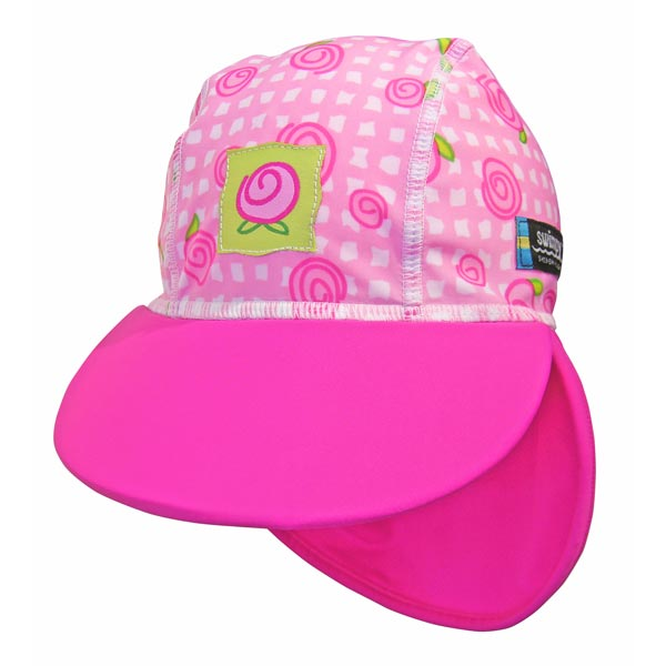 Sapca copii  Baby Rose protectie U.V  0- 1 ani Swimpy