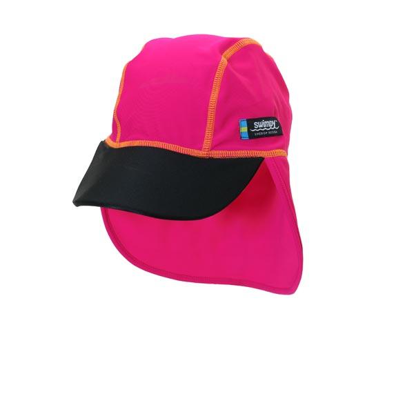 Sapca pink black 2- 4 ani protectie UV Swimpy