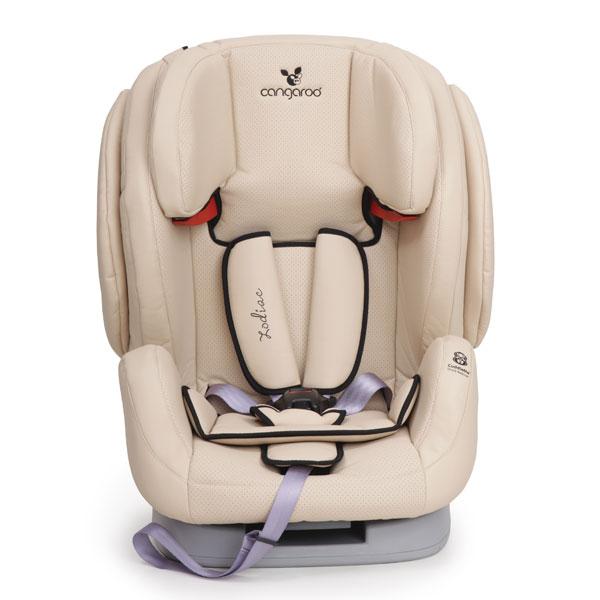 Scaun auto Cangaroo Zodiac Eco Leather Beige 9-36 kg