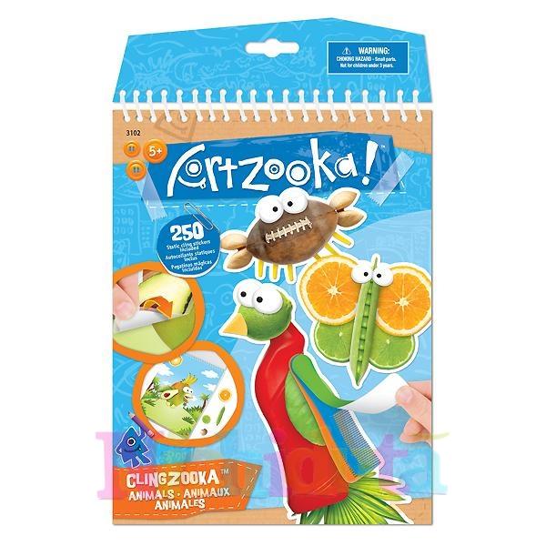 Set creatie Clingzooka