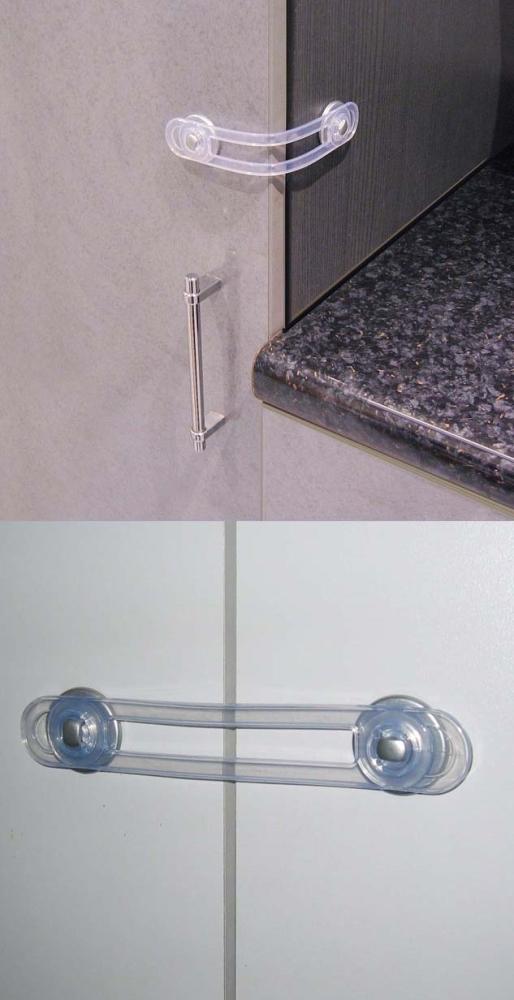 Siguranta multifunctionala pentru usi si dulapuri REER 5104