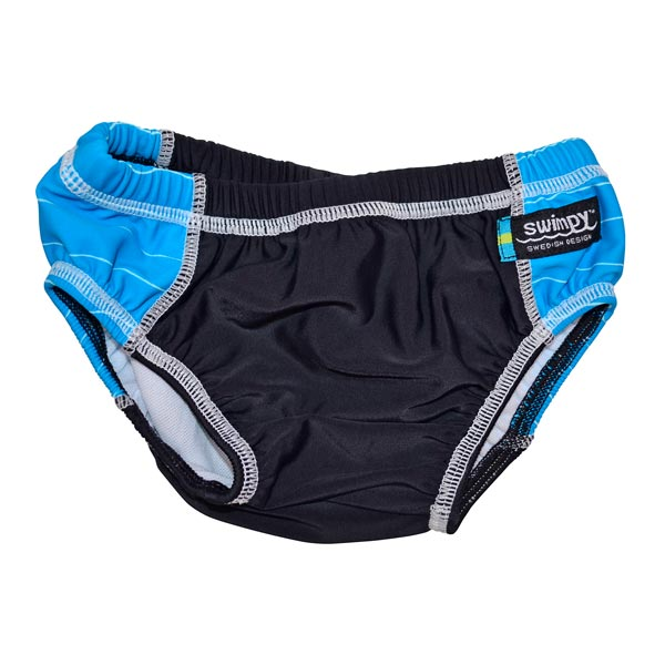 Slip black blue marime XL Swimpy