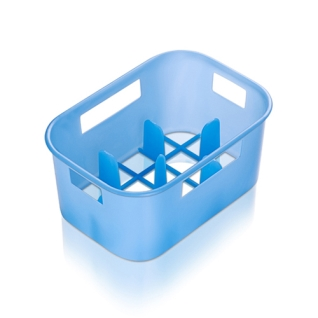 Suport biberoane albastru Reer 256.11