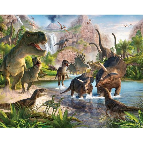 Tapet pentru Copii Dinosaur Land