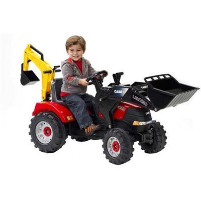 Tractor Case IH cu Excavator si Cupa