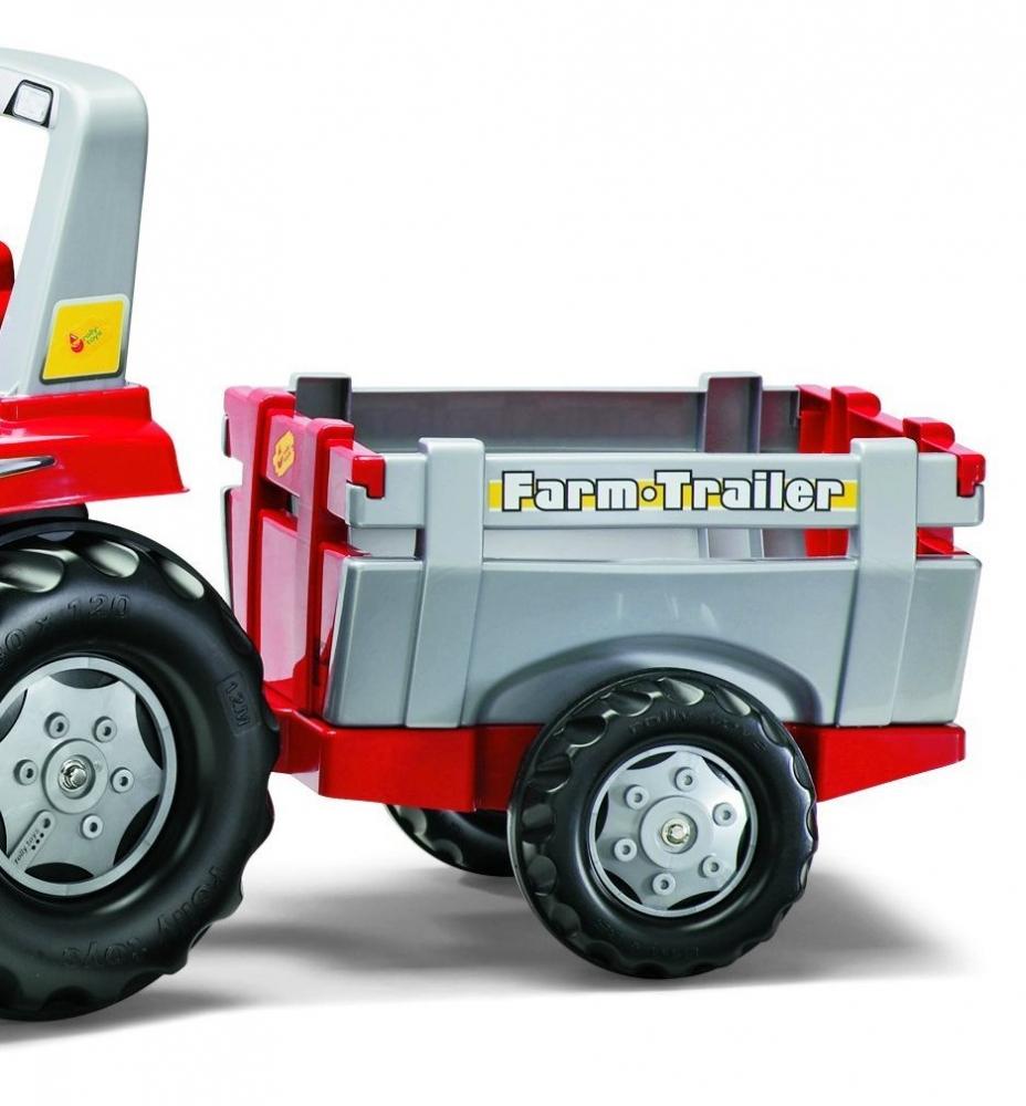 Tractor cu pedale Rolly Junior cu remorca - 1