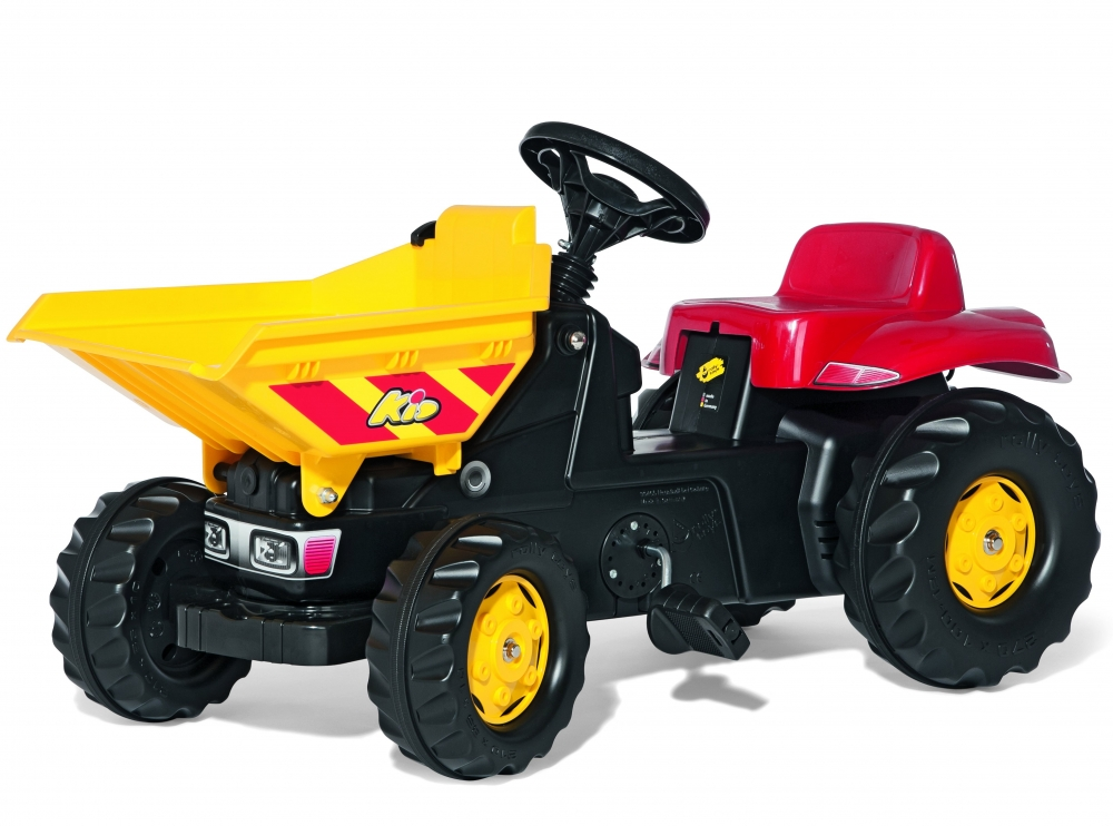 Tractor cu pedale Rolly Kid Dumper Kid