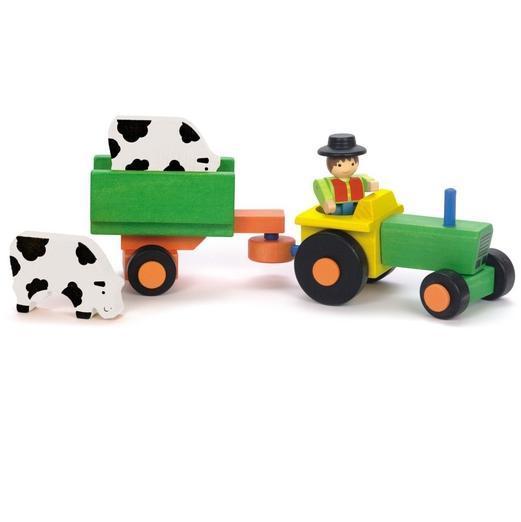 Tractor cu remorca si accesorii