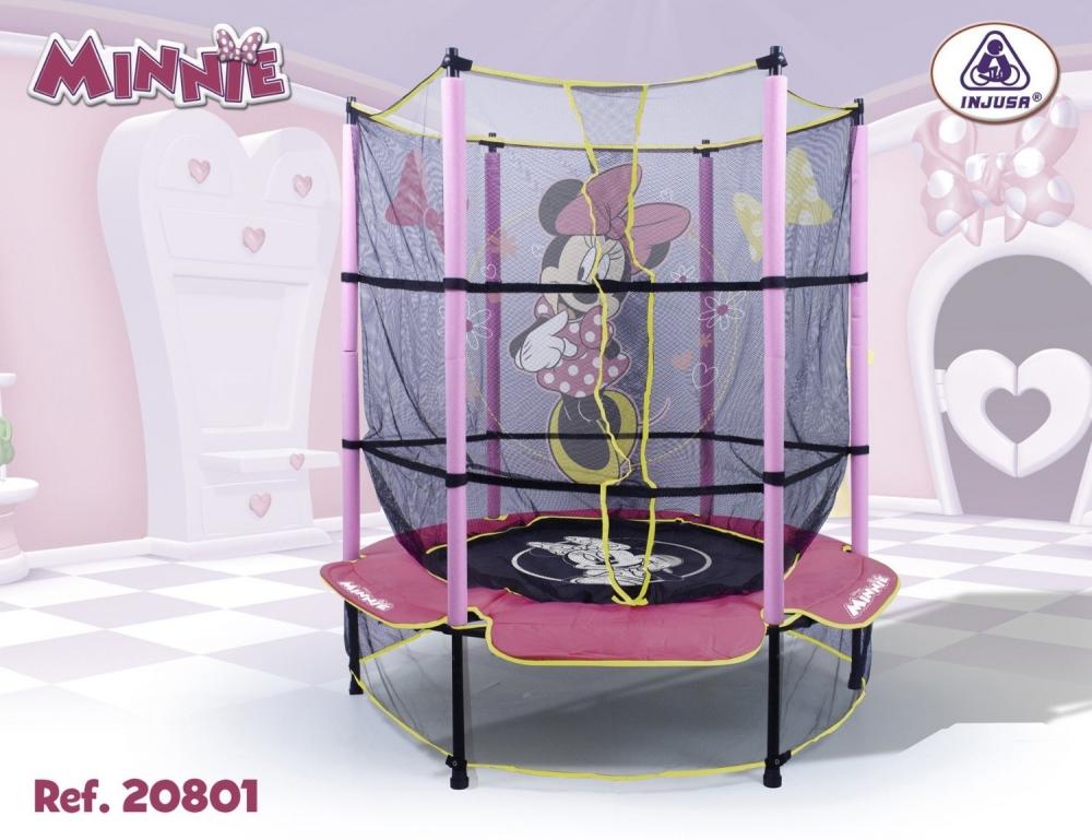 Trambulina pentru copii Injusa Minnie Mouse