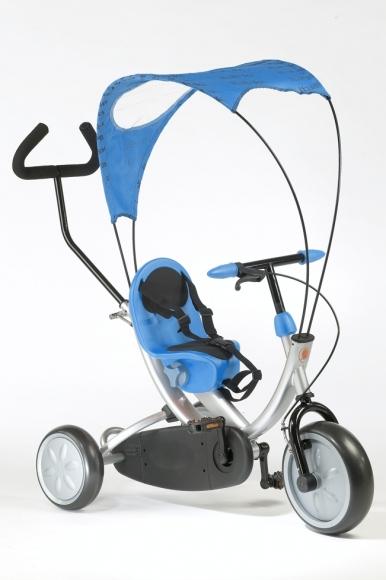 Tricicleta Italtrike OKO Blue cu parasolar