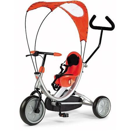 Tricicleta Italtrike OKO Orange cu parasolar