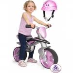 Bicicleta fara pedale Injusa Jumper Balance Bike cu casca
