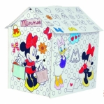 Coloreaza-ti Casuta John Minnie Mouse
