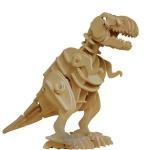 Dinozaur T-REX 85 Walking - Puzzle 3D din lemn