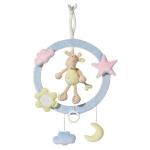 Inel muzical decorativ Girafa Brevi Soft Toys