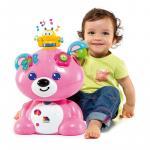 Ursulet roz cu activitati Molto