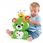 Ursulet verde cu activitati Molto