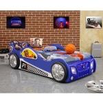 Patut in forma de masina Monza Albastru