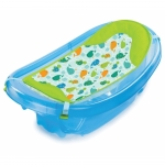 Set cadita si suport de baita Sparkle and Splash  Blue