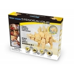 Stegozaurus - Puzzle 3D din lemn