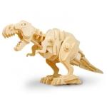 T-Rex 90 Biting - Puzzle 3D din lemn