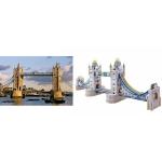 Tower Bridge - Puzzle 3D din Lemn