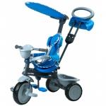 Tricicleta pentru copii Dhs Baby Blue