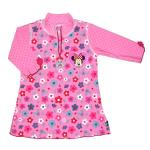 Tricou de baie Minnie Mouse marime 98-104 protectie UV Swimpy
