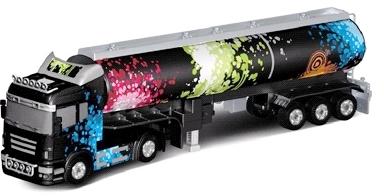 Camion cu semiremorca (0202C) cu Telecomanda, Scara 132