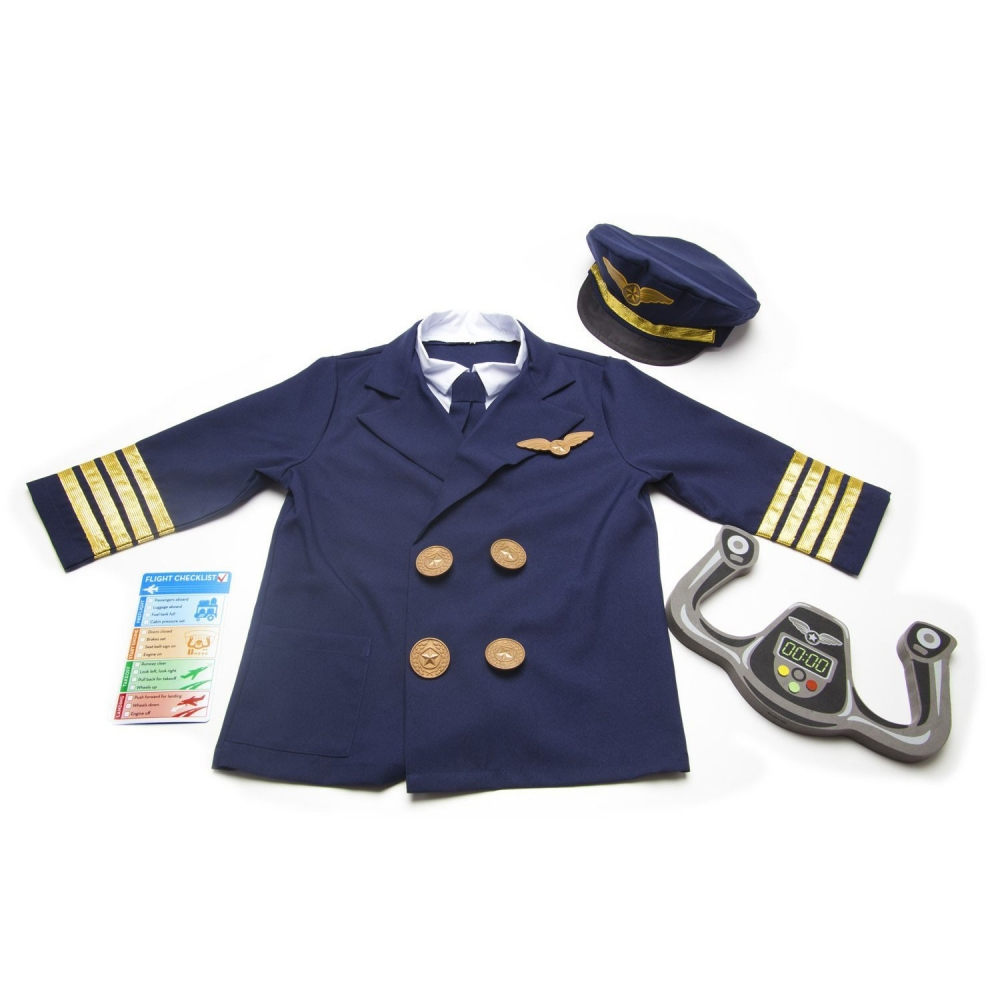 Costum Pilot de Avion Melissa and Doug