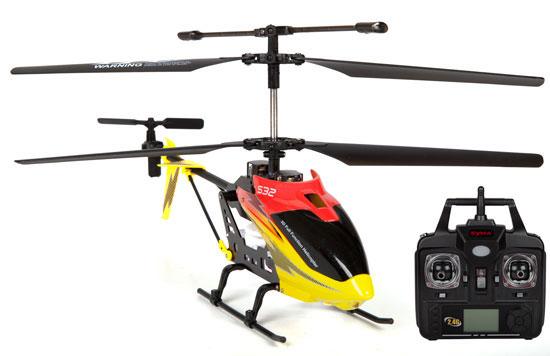 Elicopter cu radiocomanda 2,4Ghz, 3 canale, Syma S32