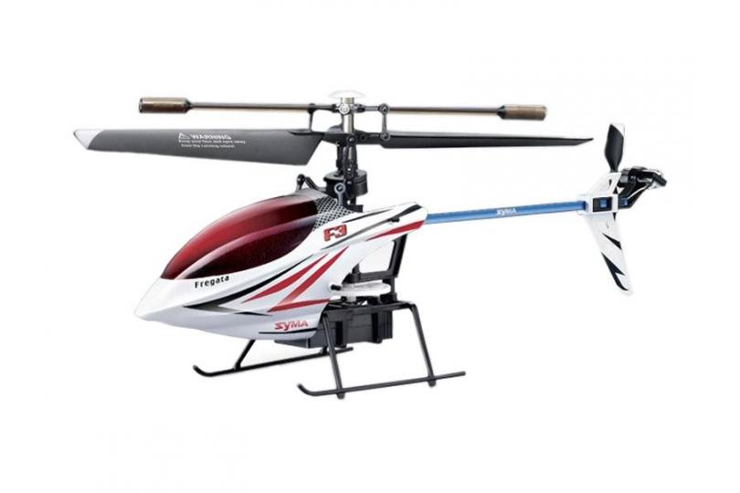 Elicopter cu radiocomanda Syma F3, 4 canale, cu UN SINGUR ROTOR