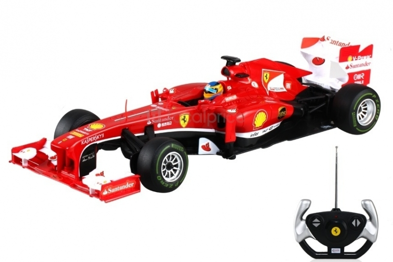 Ferrari F138 de curse, cu telecomanda, Scara 112