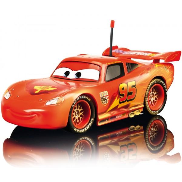 Fulger McQueen cu telecomanda versiune prafuit