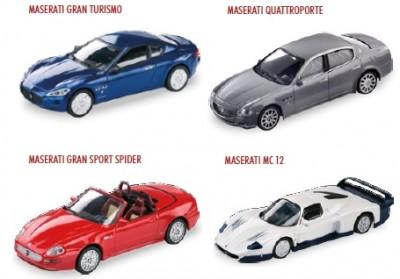 Machete masinute Maserati