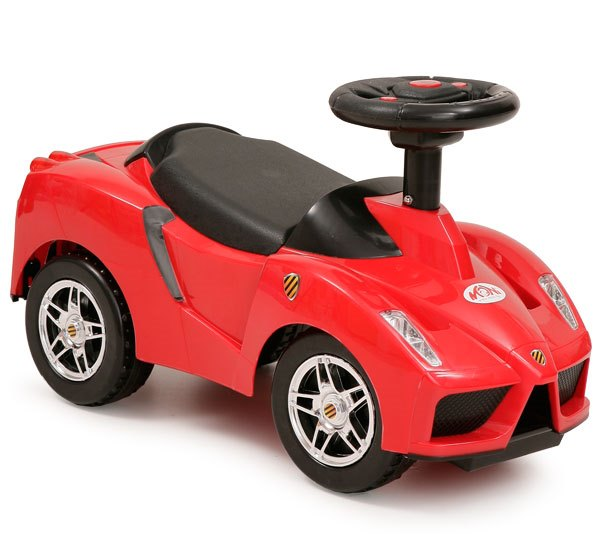 Masinuta fara pedale Racing Car Red