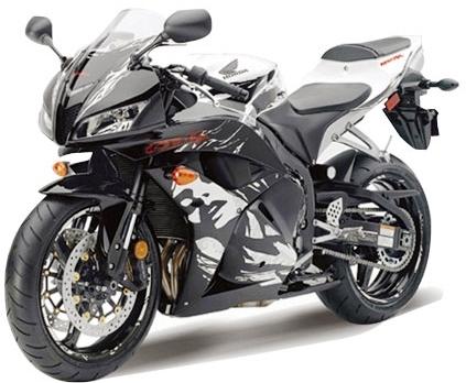 Motocicleta Honda CBR600RR, Macheta, Scara 19