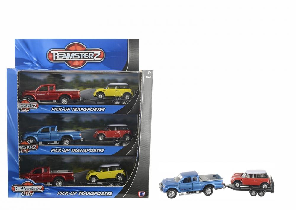 Set camioneta + masinuta