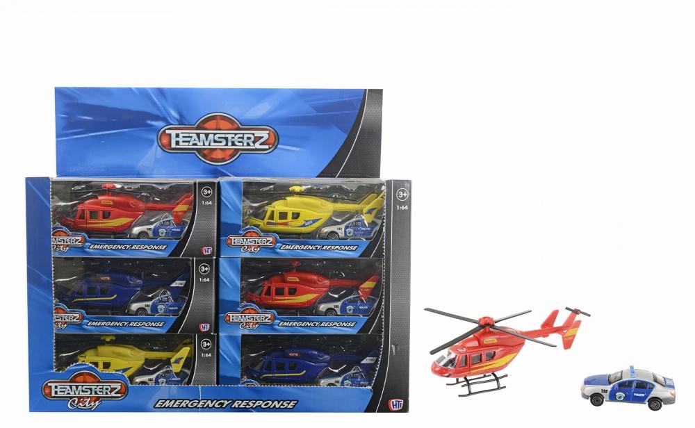 Set de joaca elicopter + masina