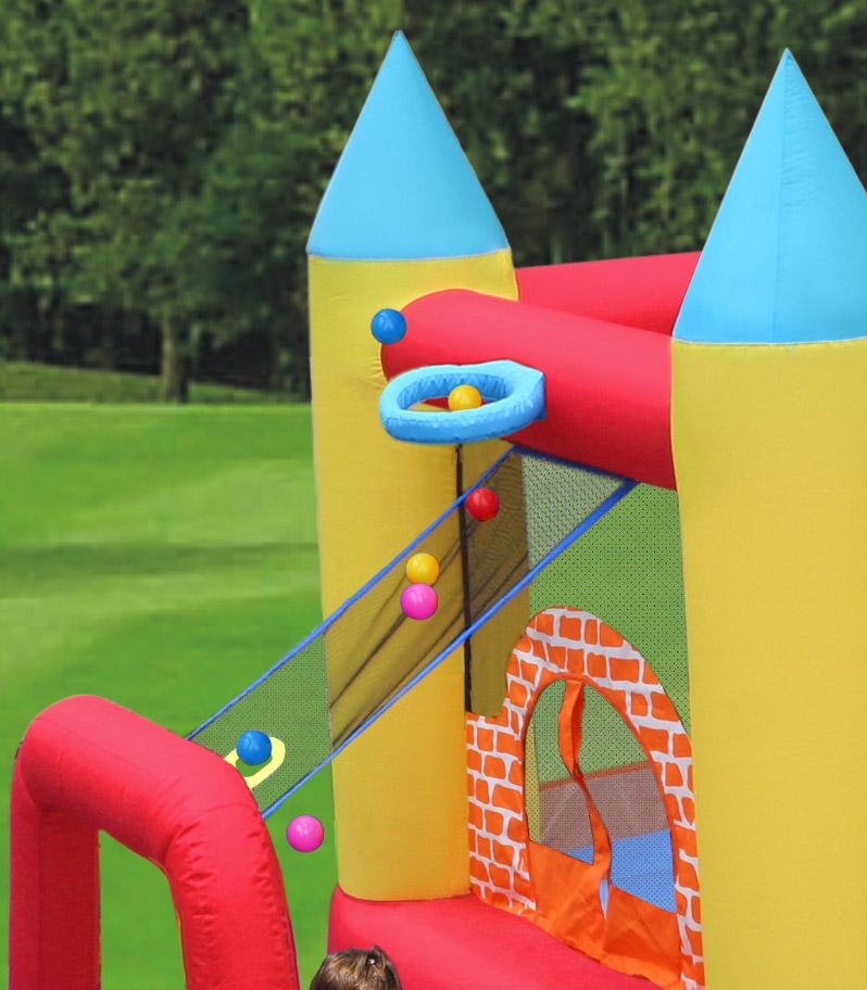 Saltea gonflabila Happy Hop Play Center 4 in 1 imagine