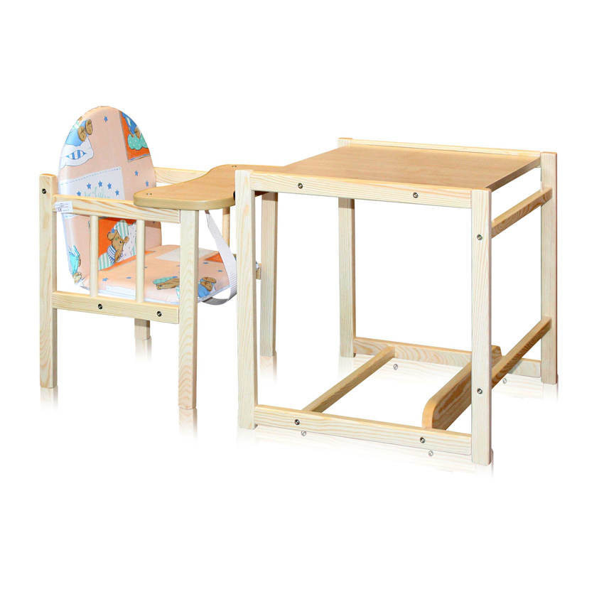 Scaun cu Masa din lemn Woody