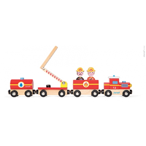 Set povestea mea - trenulet - Pompieri (J08540)