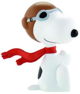 Snoopy cu casca si fular