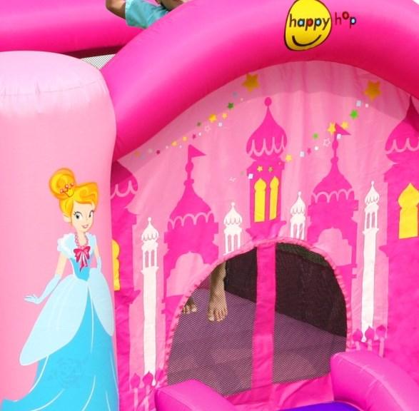 Spatiu de Joaca Happy Hop Printese cu tobogan imagine
