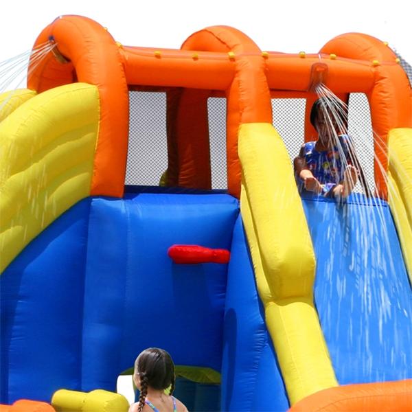Spatiu de joaca gonflabil Happy Hop Mini water Park