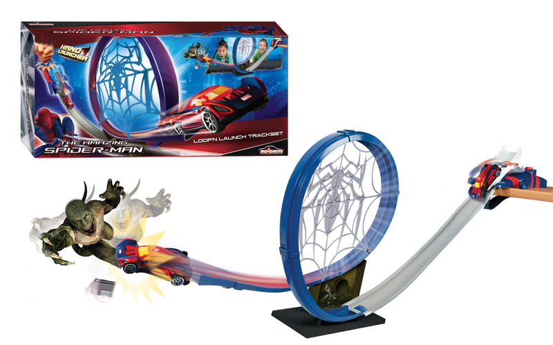 Spiderman Circuit Loopn Launch+1 Masina